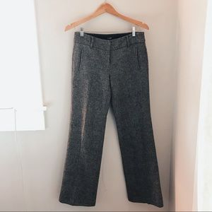 J.CREW HERRINGBONE WOOL PANTS size 2